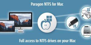 Paragon NTFS Crack license key for Mac
