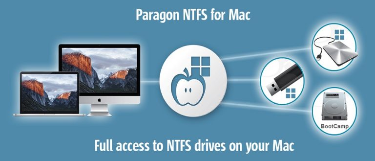Paragon NTFS Crack license key for Mac