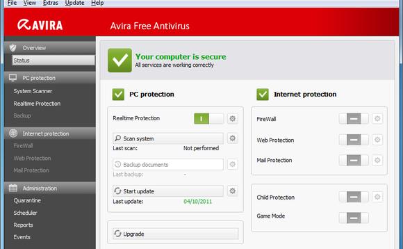 Avira Antivirus треснуть бесплатно скачать русификатор